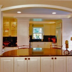 Over The Kitchen Sink Lighting Diy Cabinet Doors Dining Room Pass Thru - Traditional ...