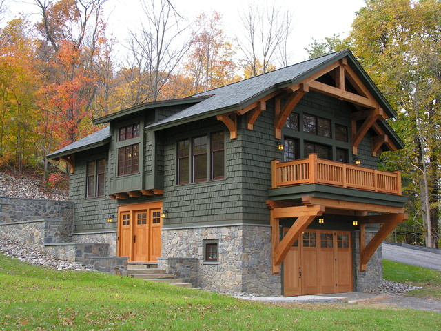 The Boathouse Craftsman Exterior New York By Design Works