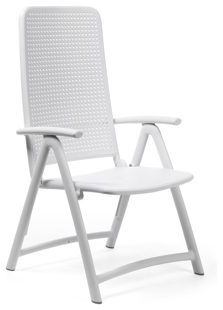 high outdoor folding chairs egg chair with speakers darsena back set of 2 modern by nardi
