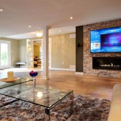 Living Room Design Ideas Open Floor Plan Furniture Pieces Names Concept Basement - Toronto By ...