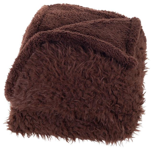 solid plush fleece sherpa