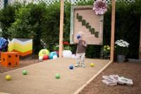 Backyard Entertainment Ideas - Transitional - Landscape ...