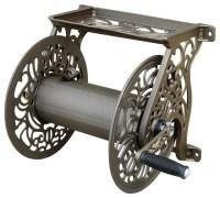 Metal Garden Hose Reel - Traditional - Garden Hose Reels ...