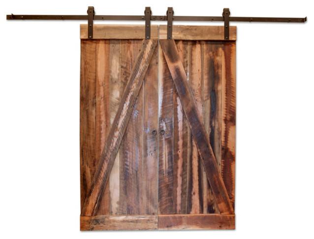 Houston Reclaimed Barn Wood Door