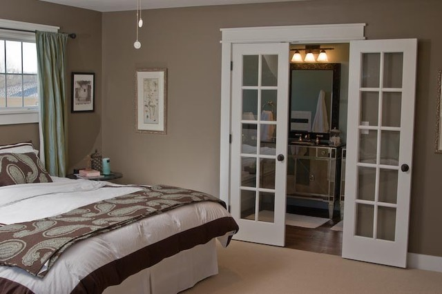 master bedroom - craftsman - bedroom - indianapolis - by susan