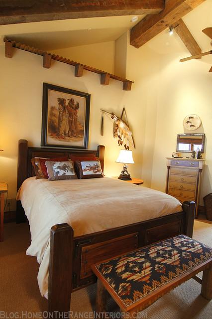 Western Mine Style Bedroom  Rustic  Bedroom  Denver