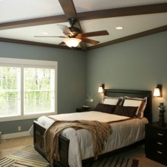 Transitional Living Room Furniture Red And Cream Curtains Master Bedroom Ceiling Beams - Traditional ...
