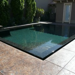Swivel Patio Chairs Sale Sequin Chair Covers Perimeter Overflow Pool - Los Angeles By Allstate Pools & Spas