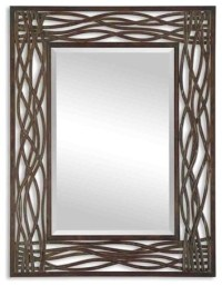 """Seagrass"" Metal Mirror - Beach Style - Wall Mirrors - by ..."