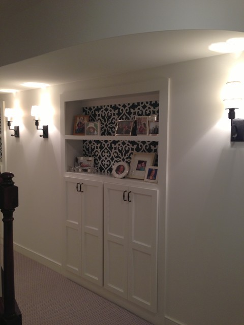 Basement Remodel  Adding more storage in a small space