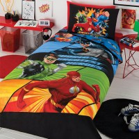 Justice League Awesome Four Quilt Cover Set - Contemporary ...