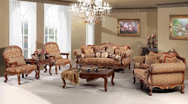 Madeleine Luxury Living Room Sofa Set