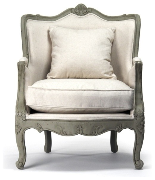 french provincial adele occasional chair dining table covers design country traditional armchairs
