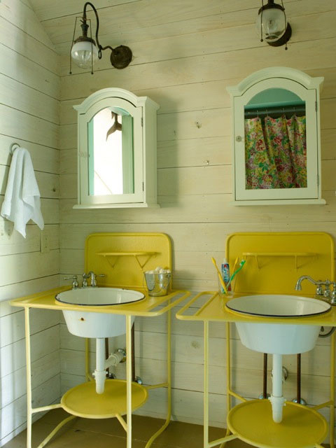 Fish Camp Beach Cottage  Beach Style  Bathroom  Miami