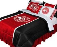 NBA - NBA Atlanta Hawks Comforter Set Basketball Bedding ...