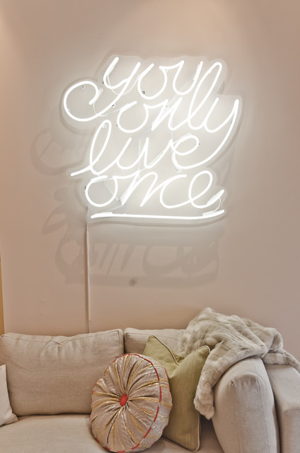 Teen Only Hang Out Room by Em Design Interiors eclettico-camera-da-letto