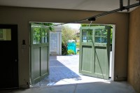 Out-Swing Carriage garage Doors - Traditional - Shed - San ...