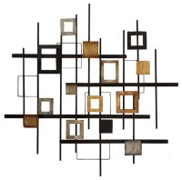 Metal Abstract Wall Art - Contemporary - Wall Sculptures ...
