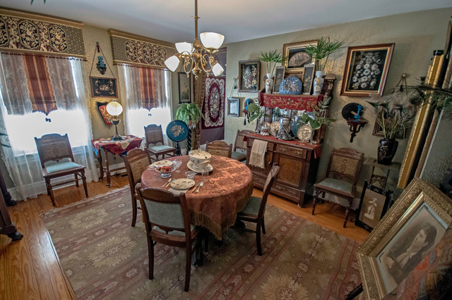 Victorian Dining Room  Traditional  Dining Room  Other