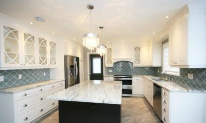 countertops quartzite fantasy brown backsplash transitional kitchen