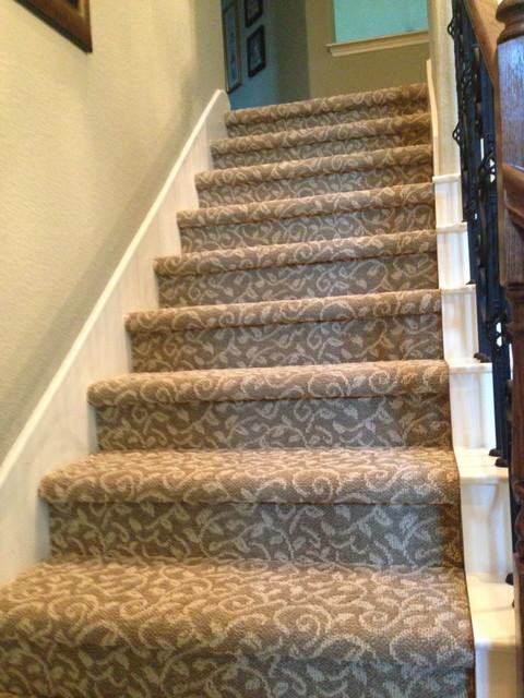 Tuftex Bella Flora Carpet Stairs