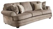 kingsley pewter sofa - sofas