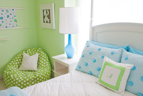 green paint color for kids room