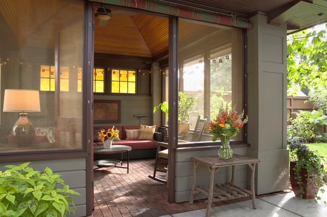 Saint Paul Craftsman  Craftsman  Porch  Minneapolis  by David Heide Design Studio