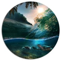 Design Art USA - Tropical Paradise Seashore, Seashore Disc ...