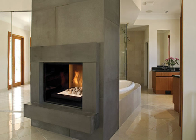 TC36 seethrough gas fireplace  Modern  Indoor Fireplaces  by townandcountryfireplacesnet