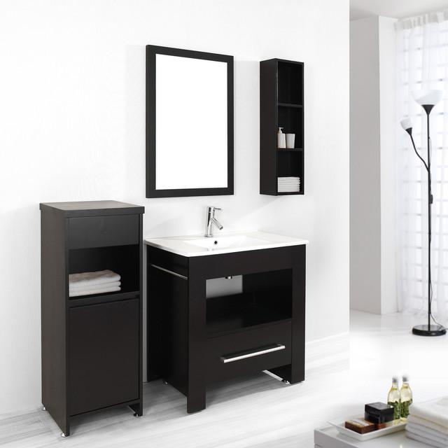 Virtu USA Masselin 32inch Single Sink Bathroom Vanity Set