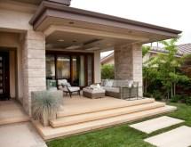 beach modern outdoor living - contemporary