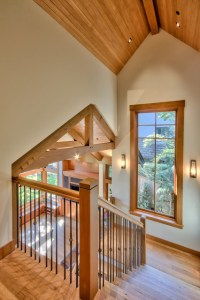 Punctilious Post and Beam - Rustic - Staircase - vancouver ...
