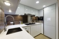 Modern Small warm Apartment - Contemporary - Kitchen ...