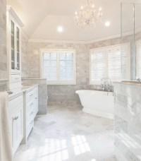 Timeless Elegance - Marble Master Bath, Chatham NJ ...