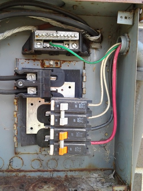 30a Load Center Wiring Diagram Daisy Chain Subpanel To Subpanels