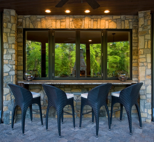 boat chairs folding deck stretch dining chair covers amazon 2012 southern living showcase home - eclectic patio charlotte by bogari