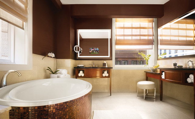 JW Marriott Hotel  Chicago  Contemporary  Bathroom