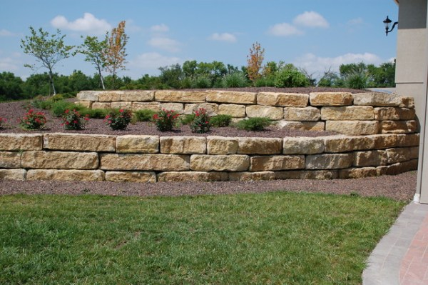 "tiered 14"" ledgerock limestone"