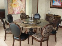 Custom-made natural stone table - Modern - Dining Room ...