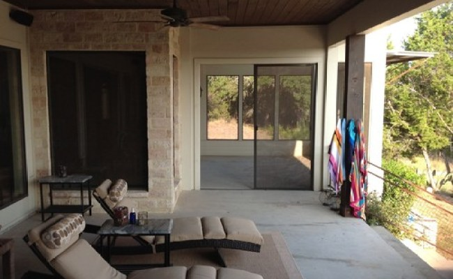 Screened Patio Sleeping Porch Off Master Bedroom What