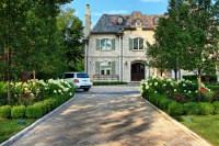 Glencoe French Chateau - Formal Pool and Landscape ...