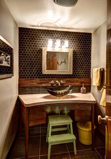 More Than Half A Bath Midcentury Bathroom Grand