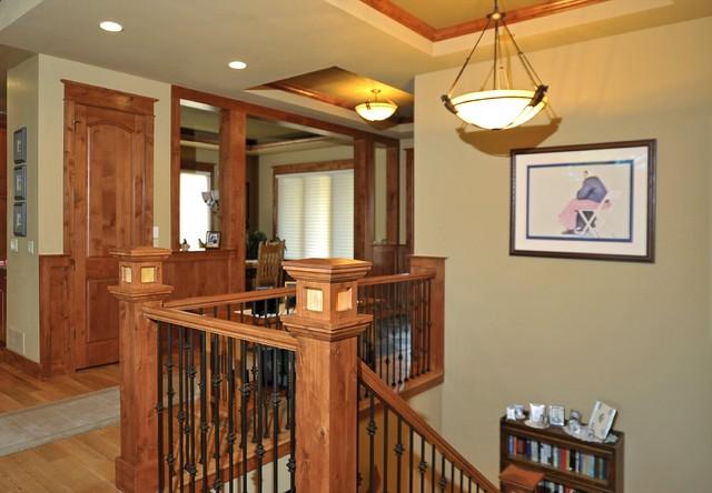 Castle Rock Craftsman Home Craftsman Staircase Denver By