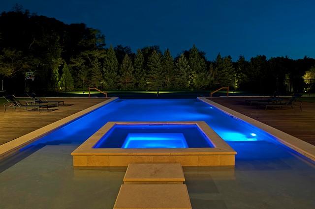 Modern Tuscan Estate  Modern  Pool  New York  by