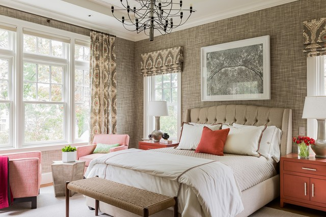 Falmouth Residence transitional-bedroom