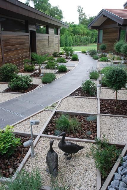 Jardin contemporain  Contemporain  Jardin  other metro  par IDO jardins