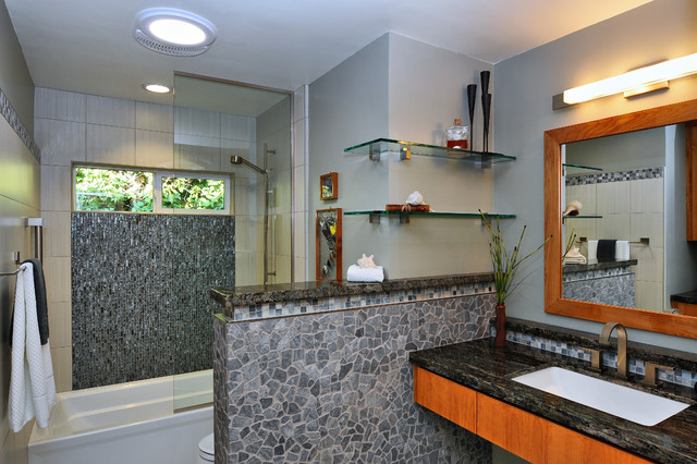 San Diego Bathroom Remodel 2  Contemporary  Bathroom  san diego  by Lars Remodeling  Design