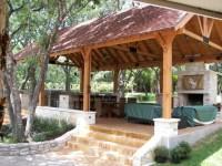 Outdoor kitchen / Living Cabana - Contemporary - Exterior ...