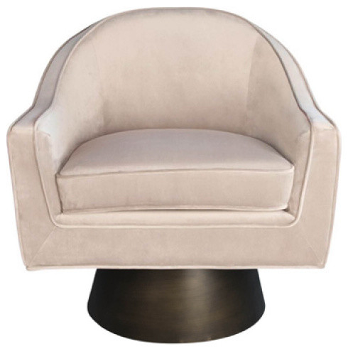 swivel lounge chairs bean bag chair cost worlds away dominic contemporary armchairs and accent by matthew izzo home